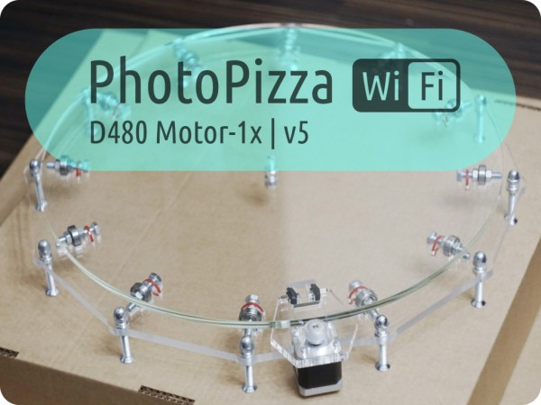 Поворотный стол PhotoPizza D480-WiFi-100KG-Auto