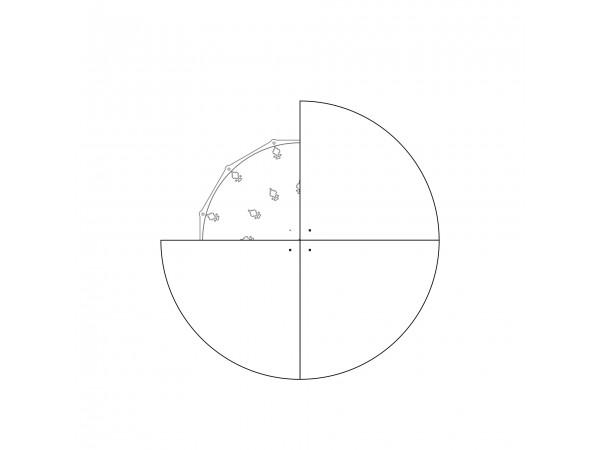 Диск для увеличения диаметра  до 980 мм, 4 сегмента, легкий белый пластик