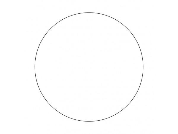Фоновый диск 740 мм (белый, матовый, толщина 0.5 мм)