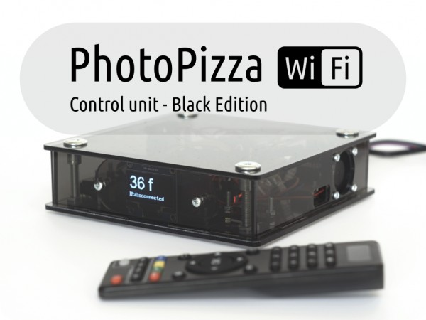 Блок управления PhotoPizza v5-WiFI Black Edition