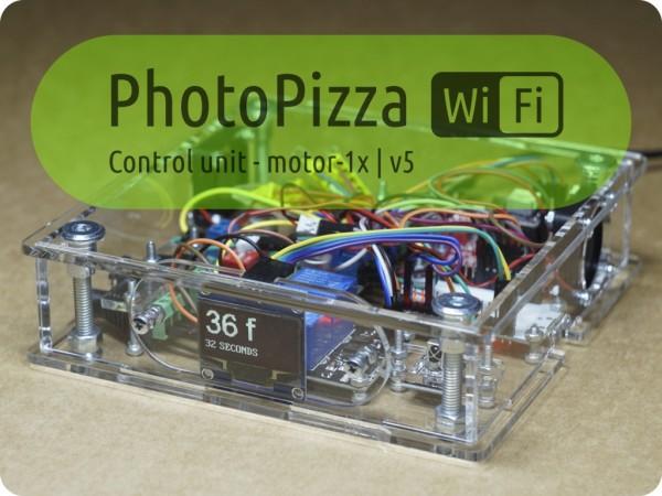 Блок управления PhotoPizza v5-WiFI